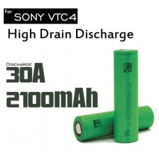 SONY Batteria 18650 VTC4 Rechar litio