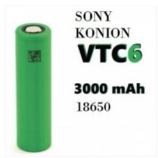 SONY Batteria Konion VTC6 18650 3000mah